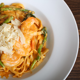 <?php echo Macho Shrimp Pasta